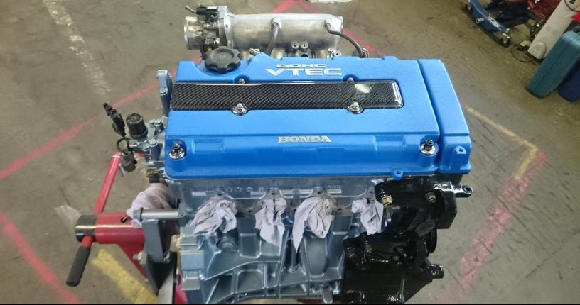 B18C Engine Rebuild & Paint